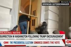 (Screenshot von CNN News)