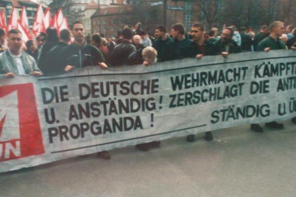 München 1997: Mobilisierungserfolg hinterm Rechtschreibfehler
