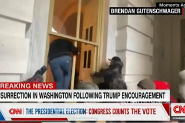 (Screenshot von CNN News)
